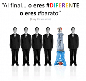 Plataforma de Marketing Diferente o barato